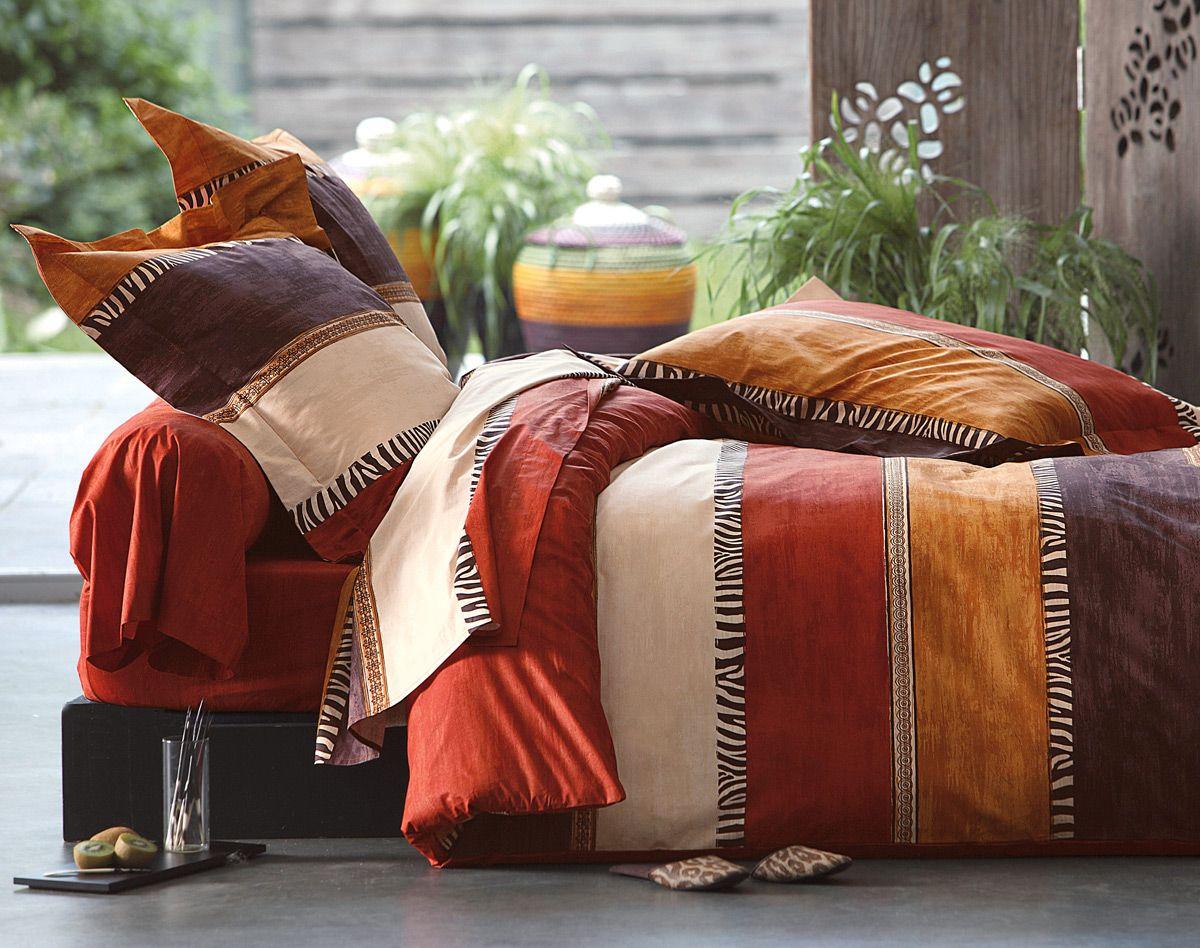linge de lit rayures z bre becquet int rieurs d co. Black Bedroom Furniture Sets. Home Design Ideas