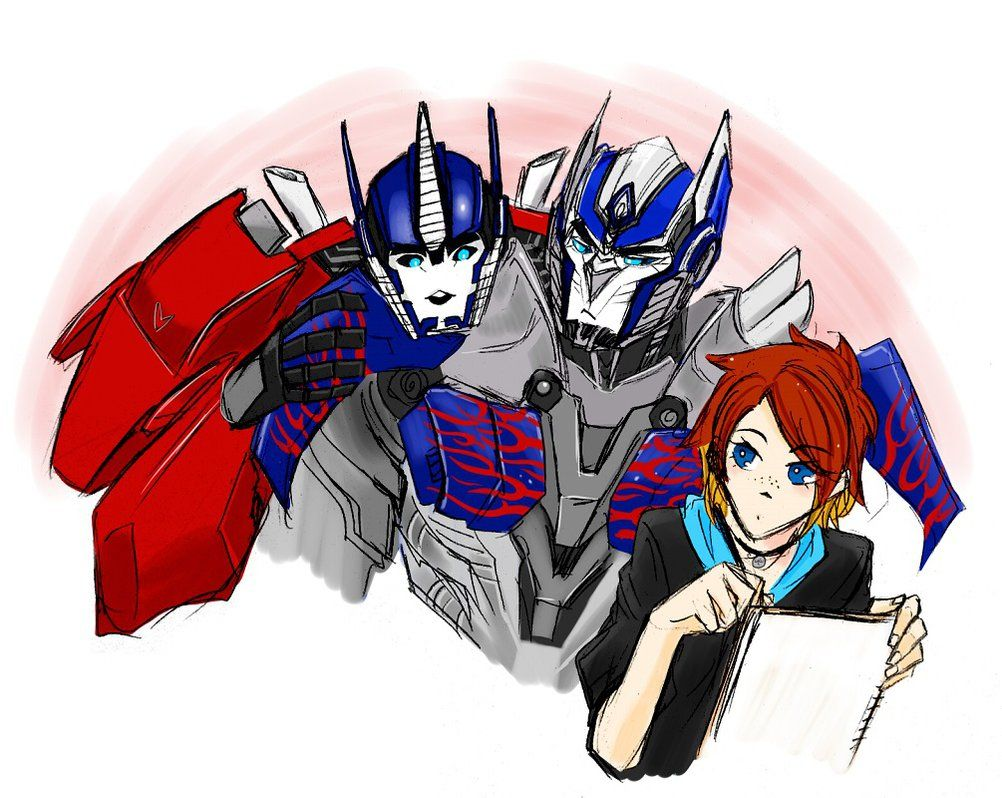 Optimus prime x reader meeting the best