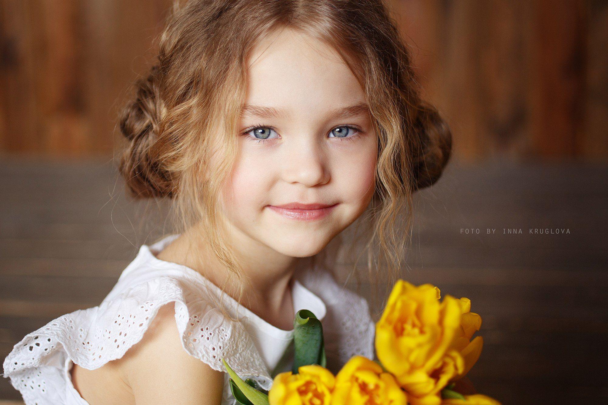 Inna child model posing
