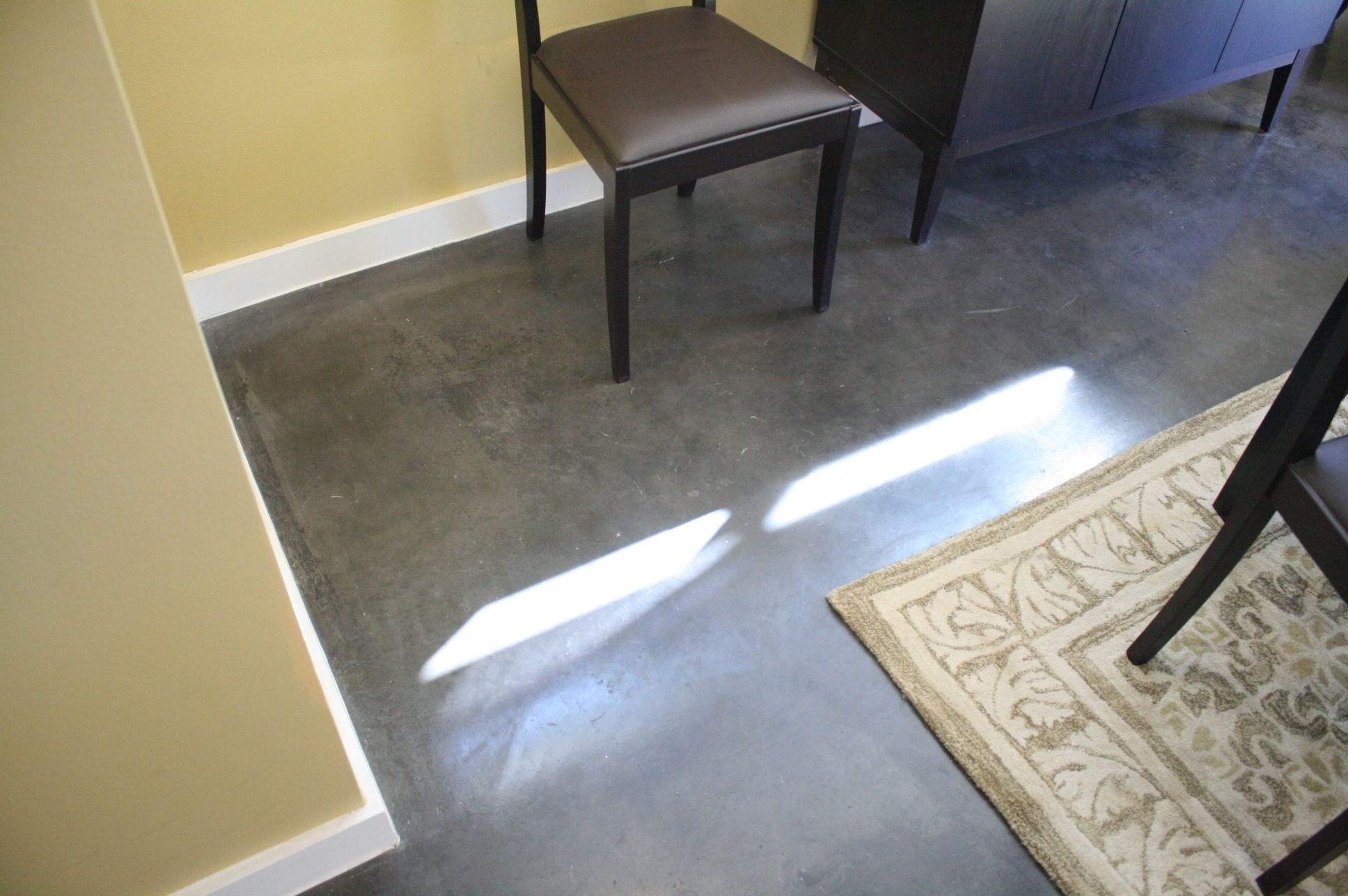 Lovely Grey Polished Concrete Floor Concrete Floors