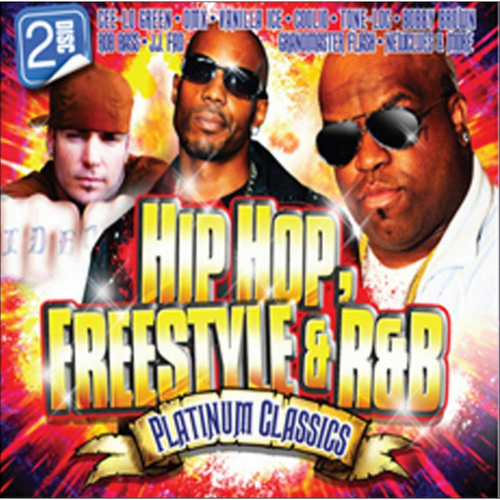 Various Artists - Hip Hop, Freestyle & R&b Platinum Classics (CD)