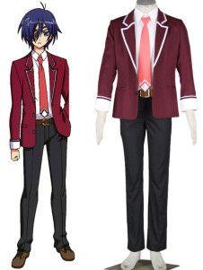 11eyes  Tsumi to Batsu to Aganai no Shojo School Uniform Cosplay Costume 07162d49deba