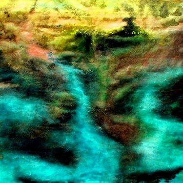 "Saatchi Art Artist Carla Sá Fernandes; Painting, ""Insight of the Dreamland"" #art"