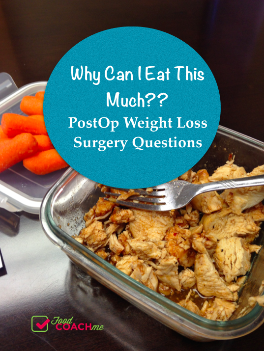 What Can You Eat After Weight Loss Surgery