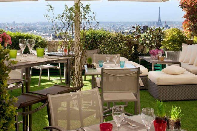 Les 30 restaurants avec les plus belles terrasses de paris - Hotel chambre avec terrasse paris ...