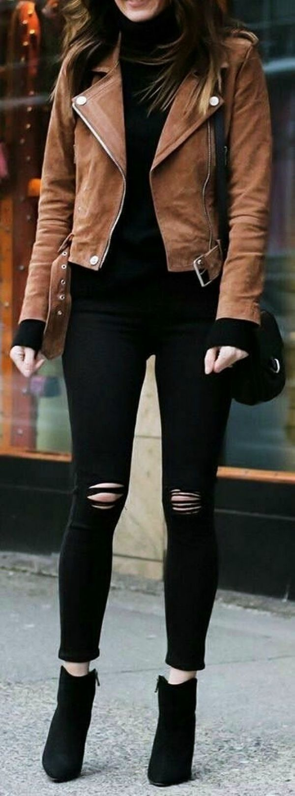 12+ Cute ways to Wear Ripped Jeans #thingstowear