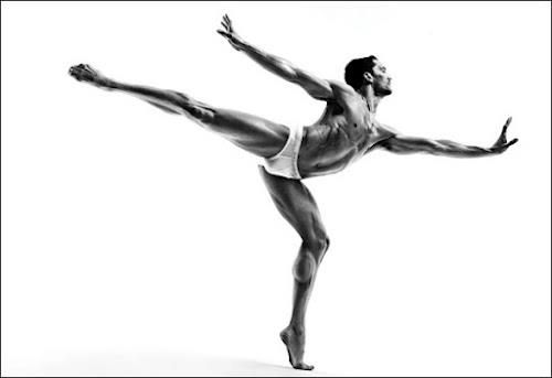 Fabrice Calmels with the Joffrey Ballet