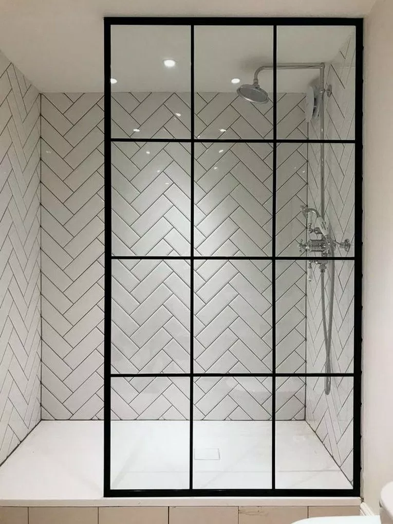 26+ Tile Shower Ideas Will Have You Planning Your Bathroom Redo #bathroomdecor #bathroomdesign #bathroomideas » Home Alone #bathroomtileshowers