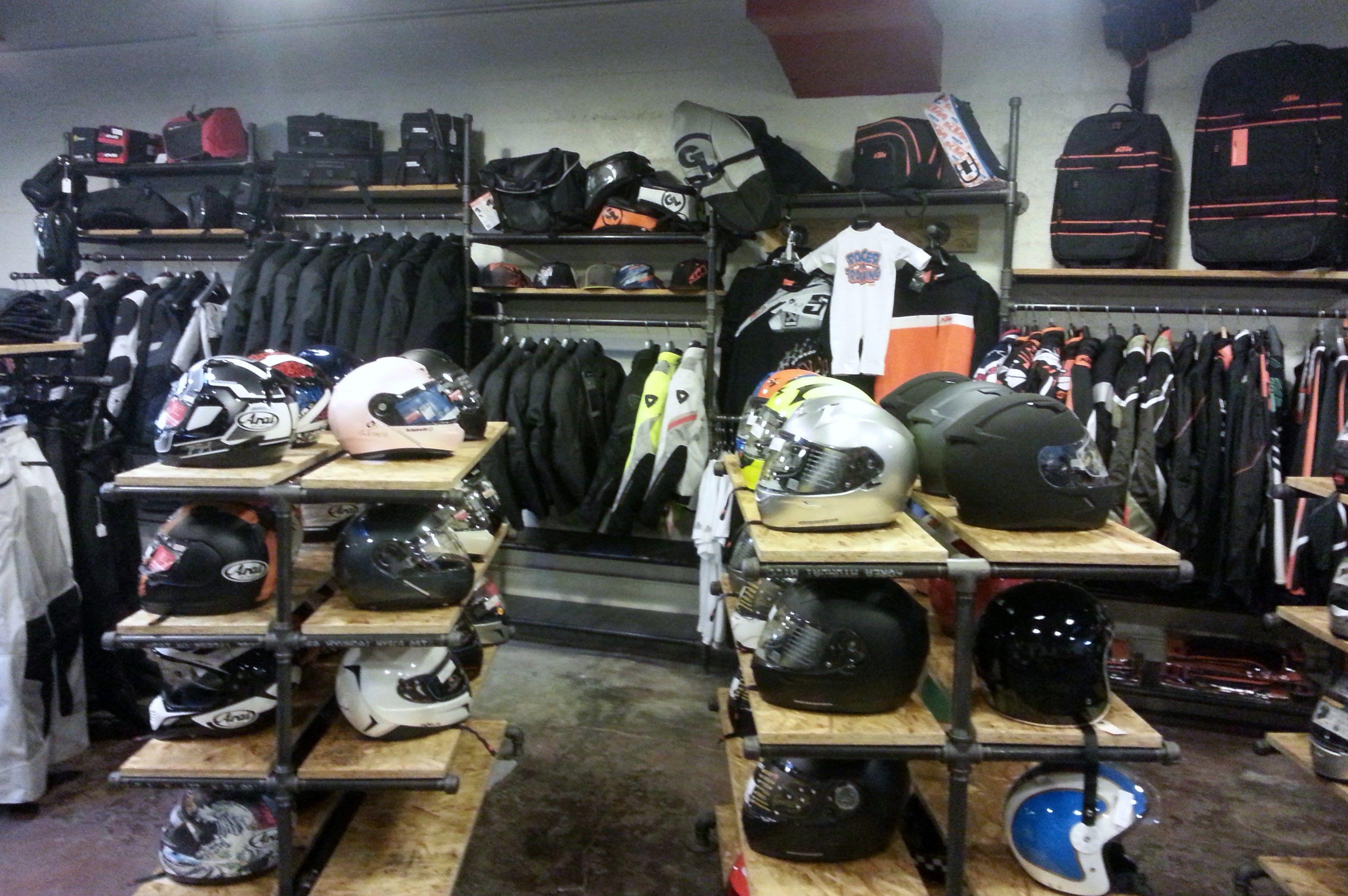 motorcycle shop business plan