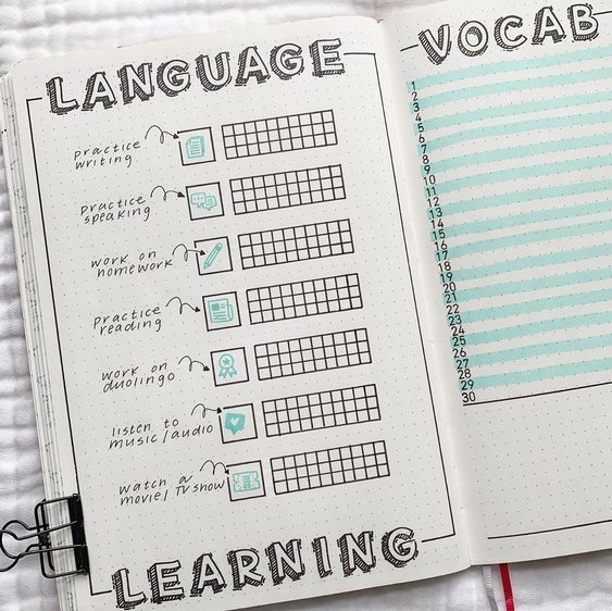 College Bullet Journal Spreads That You Need To See!