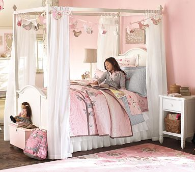 Madeline Canopy Bed In 2019 Girls Canopy Girls Bedroom