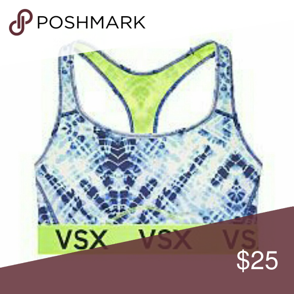 211e1f0ad5fd Victoria's Secret sports bra Tie dye sports bra-worn twice Victoria's  Secret Intimates & Sleepwear