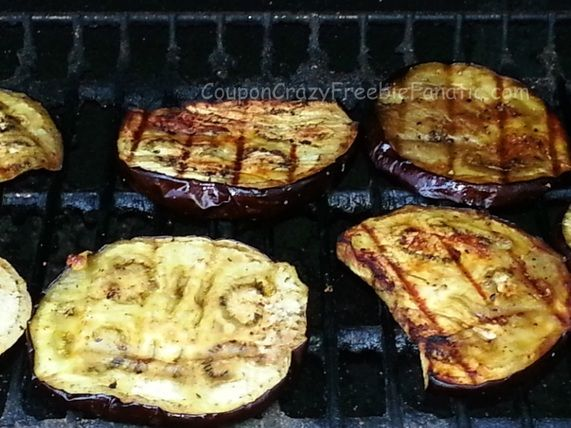 Grilled Eggplant ~ on CouponCrazyFreebieFanatic.com #GrilledEggplant #Eggplant #Veggies #SideDish #Easy #Recipe #HowTo