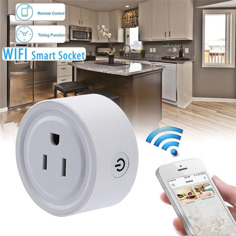 Centechia Mini Smart Wifi Socket US Plug Remote Control Power Strip ...