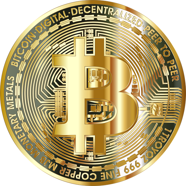 Bitcoin, Digital Currency, Cryptocurrency | Vector/svg