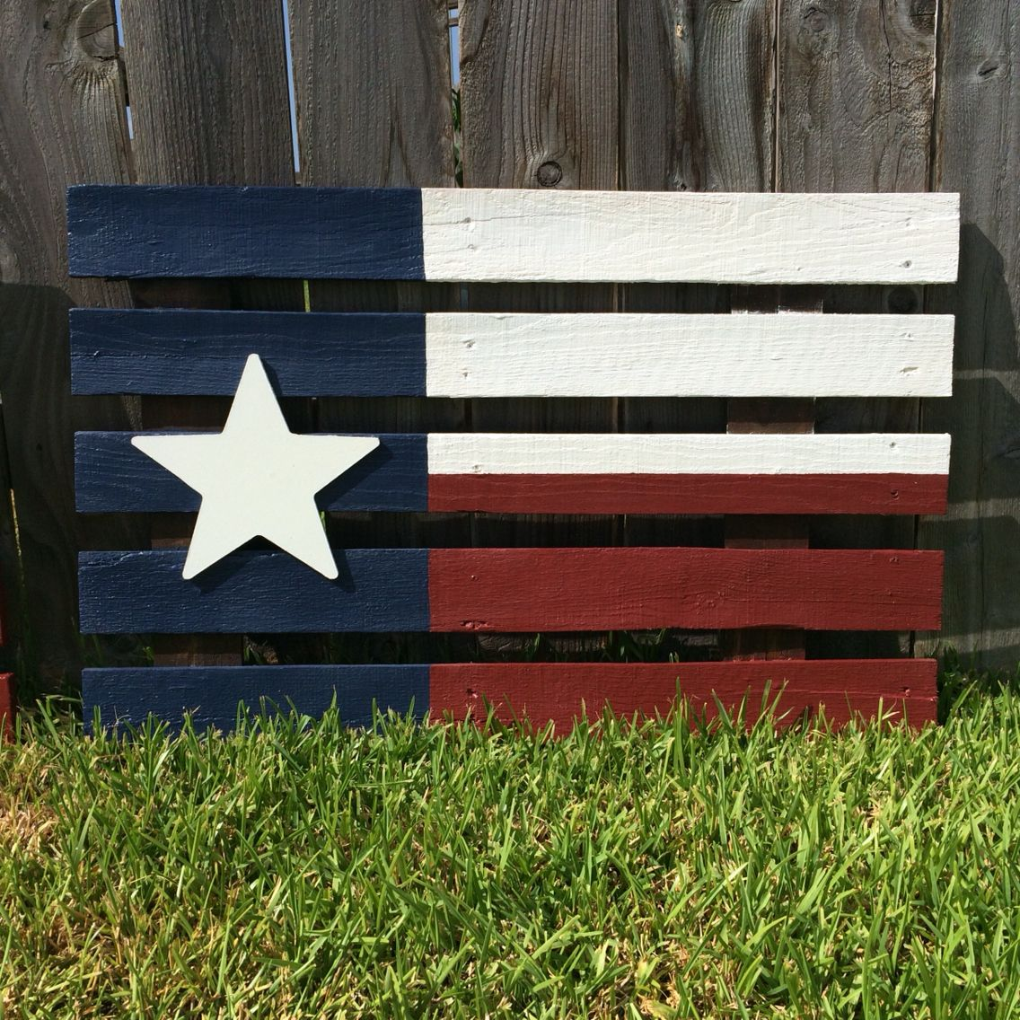 Wooden Texas Recycled Pallet Sign By Rusticrestyle On Etsy: Texas Flag, Pallet Sign, Handcrafted