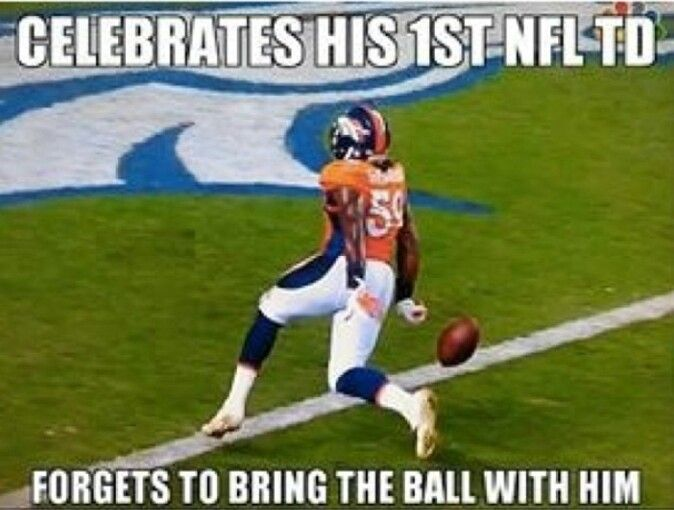 Pin By Kim On Denver Broncos Nfl Funny Funny Sports Quotes Football Jokes
