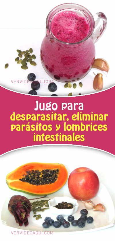 erradicar parasitos intestinales