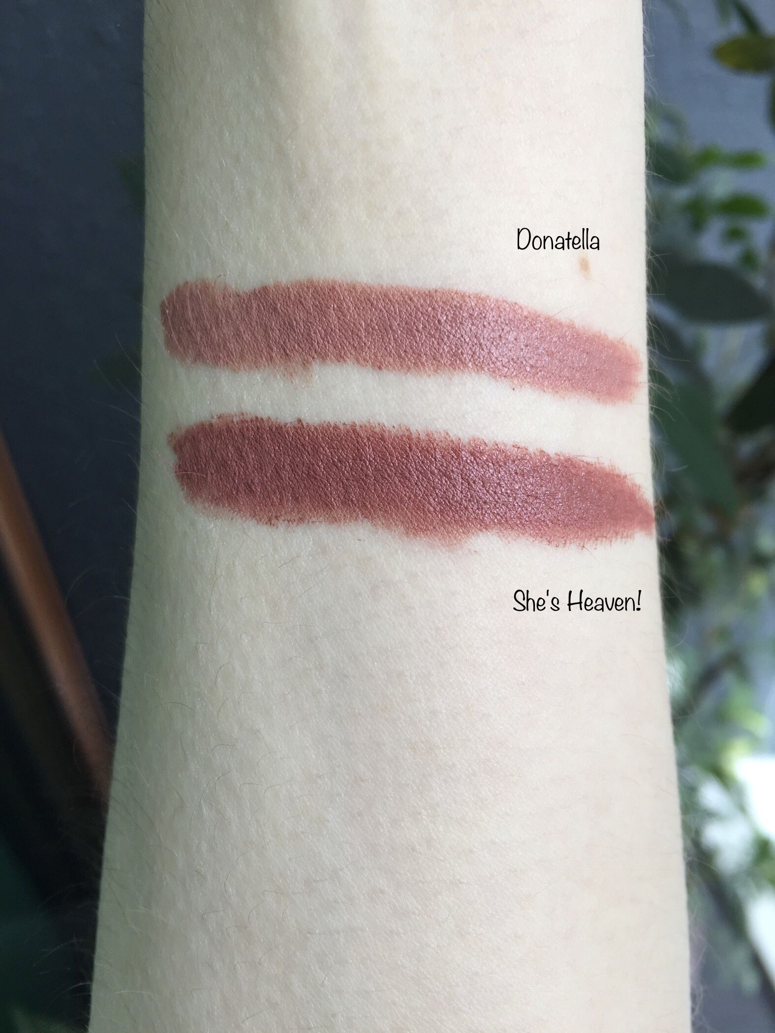 Donatella and She's Heaven! Pat McGrath LuxeTrance Lipsticks: The Skin Show Shades - Review on THE BEAUTY BLACKOUT