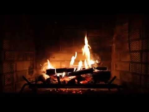 Virtual Fireplace With Crackling Fire Sounds Full Hd Youtube Virtual Fireplace Fireplace Video Fireplace