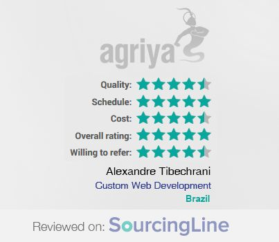 """A word from Alexandre Tibechrani , Founder & CEO at NearJOB shares about Agriya services  """"I was impressed with their level of understanding and the fact that they were able to provide us with valuable insights.""""  For more detailed review: https://www.sourcingline.com/review/custom-web-development-online-staffing-agency"""