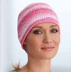 Chemo Cap to Crochet - there are several groups that make chemo caps for cancer hospitals to offer to their patients