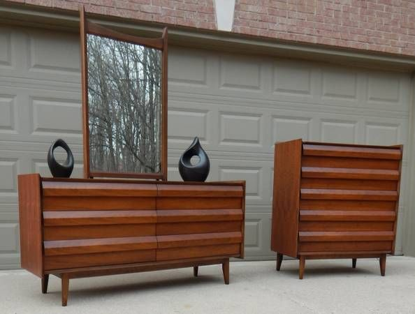 Lane Mid Century Bedroom Set Mid Century Bedroom Set Apartment Decor Bedroom Set