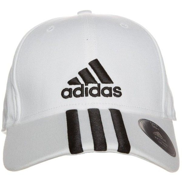 8c5358baa71 adidas Performance Cap white black ❤ liked on Polyvore featuring women s  fashion