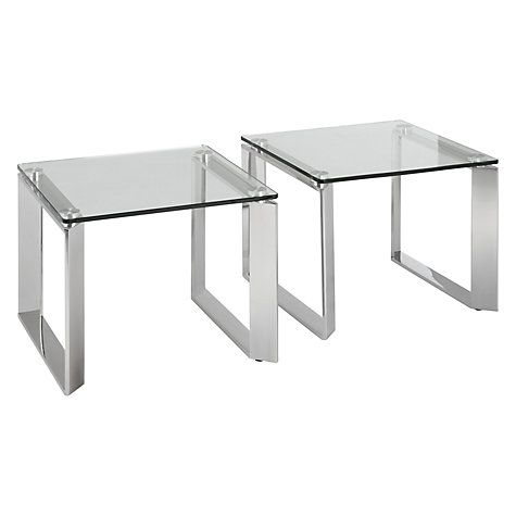 John Lewis Partners Tropez Small Side Tables Set Of 2 Dining