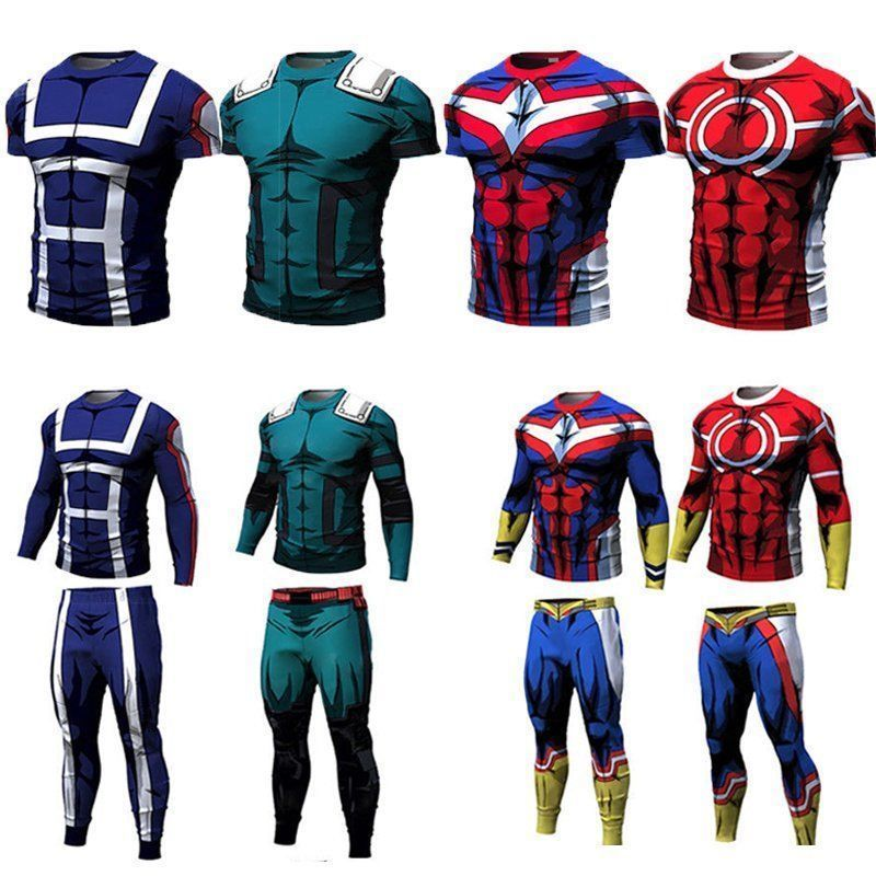 c4c0b18f0 My Hero 3D Men T shirt Gym Long Pants Academia Sport All Might Cycling Top  Tee  fashion  clothing  shoes  accessories  mensclothing  shirts  ad (ebay  link)