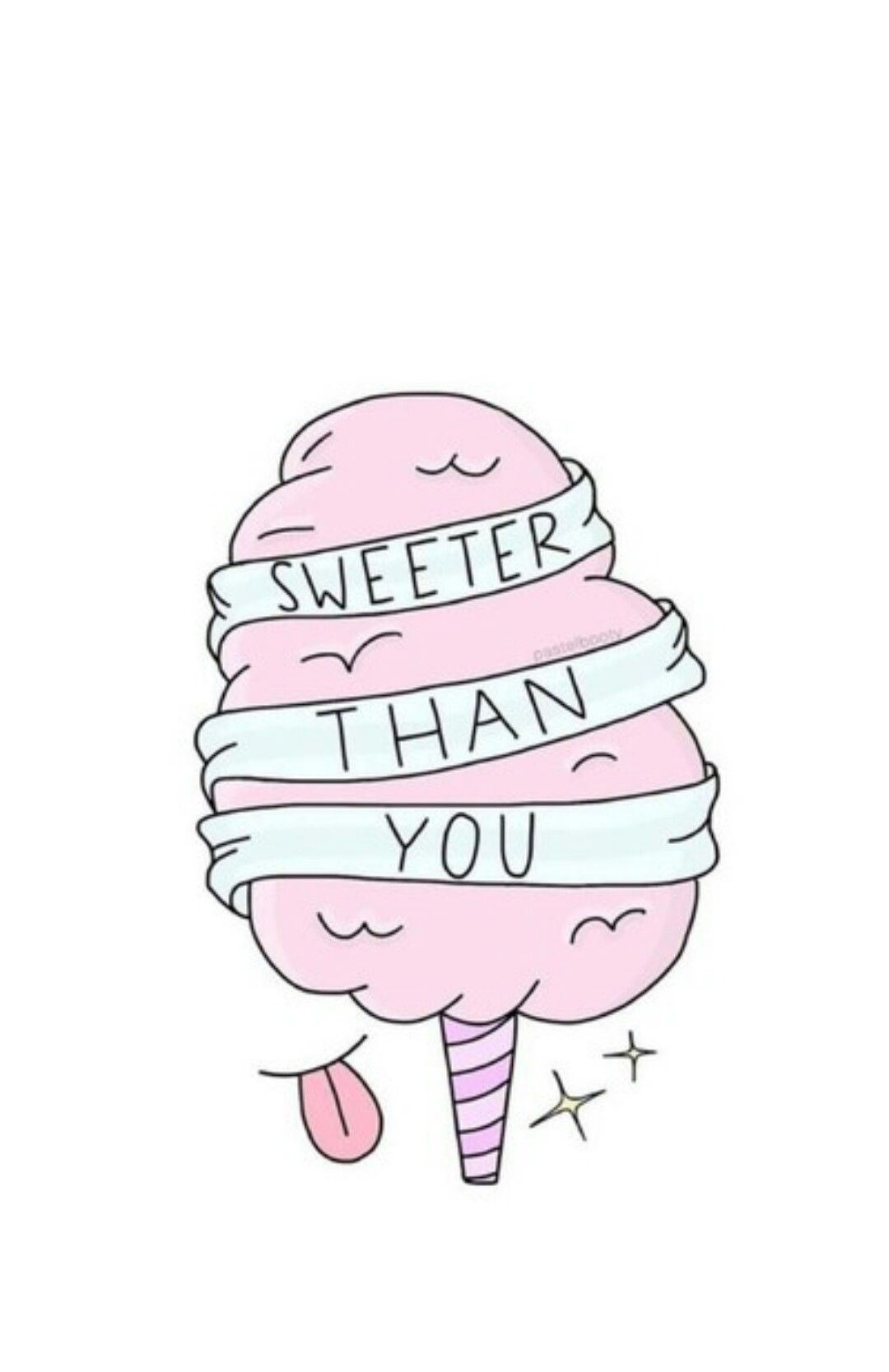 Cute Cotton Candy Wallpaper Art In 2018 Pinterest Tumblr Alise Lucu