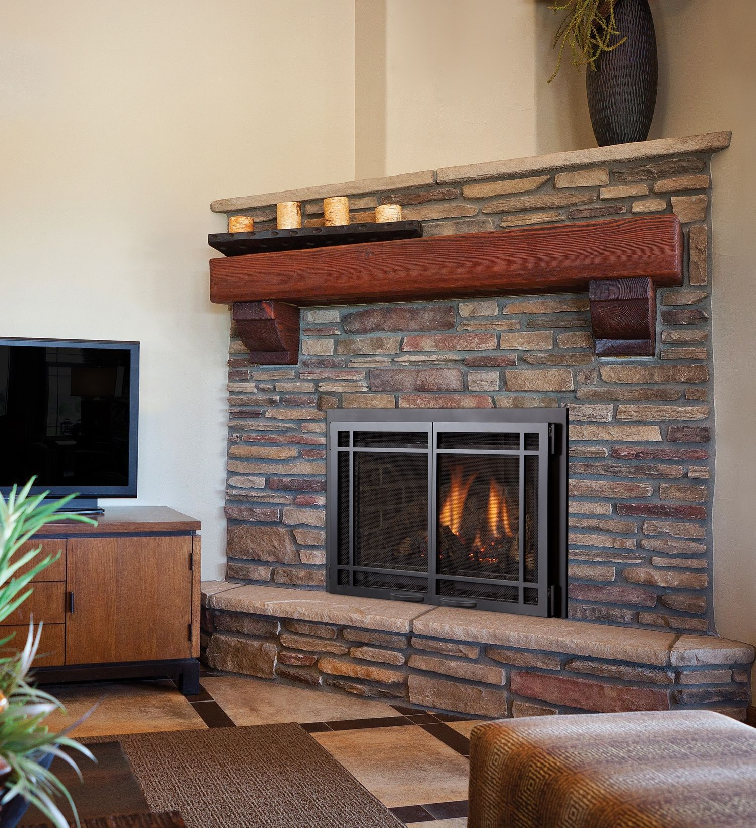 This Is Our Chaska 25 Gas Insert Fireplace For More Information