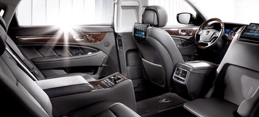 Hyundai Equus Limousine Motor Lovers Hyundai Limousine High End Cars