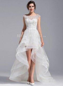Robe asymetrique pour mariage pas cher