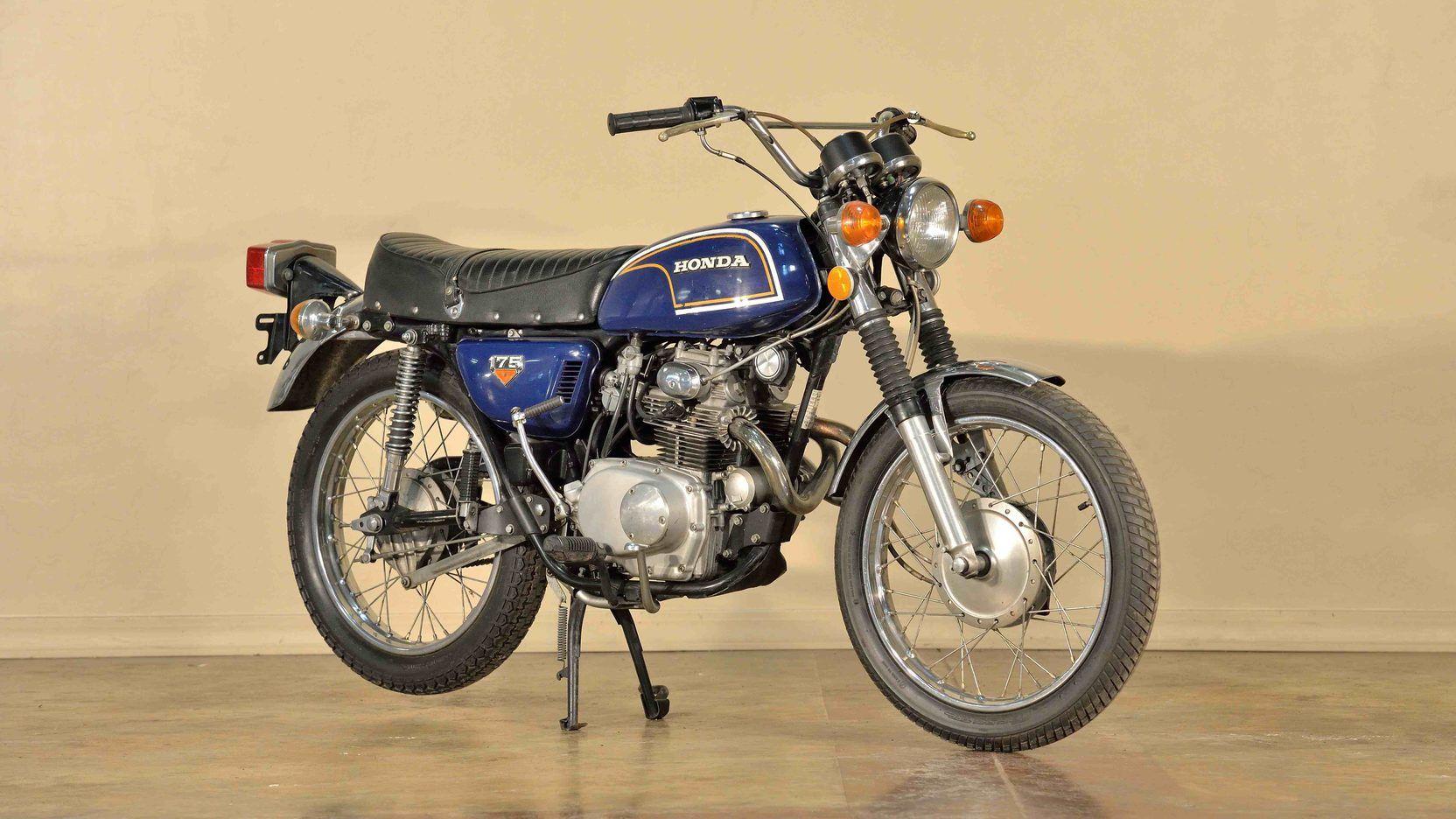 1972 Honda Cl175 Presented As Lot G51 At Las Vegas Nv Honda Vintage Motorcycles Mecum Auction [ 936 x 1664 Pixel ]