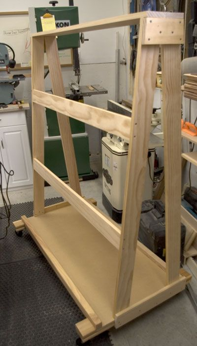 The runnerduck wood clamp rack plan is step by step for Plan storage racks
