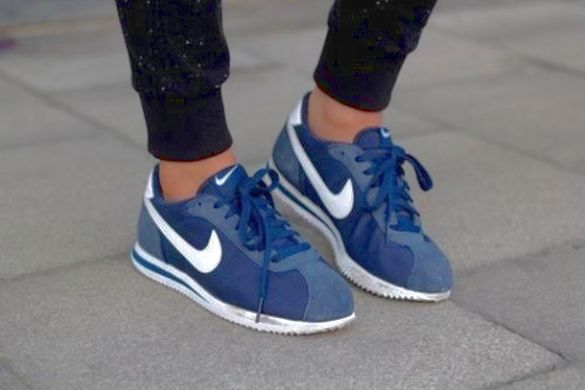 check out 18961 94919 Nike Cortez Shoes · Nike Classic Cortez · Nike   Blazer perforated suede  high-top sneakers   NET-A-PORTER.