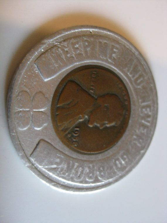 1940s Vintage Keep Me Good Luck Lucky Penny Peerless Furniture Company  Advertising Premium