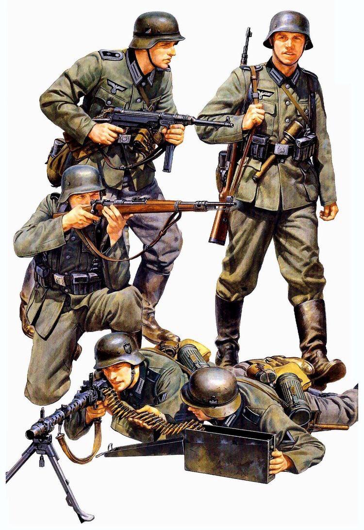 2 wk deutsche infanterie 1 35 tamiya figuren set german infantry french campaign bausatz. Black Bedroom Furniture Sets. Home Design Ideas