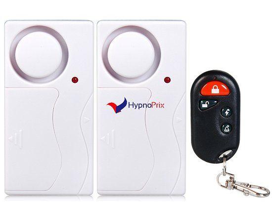 Alarme intelligente protection portes, fenêtres (Blanc) Choses à