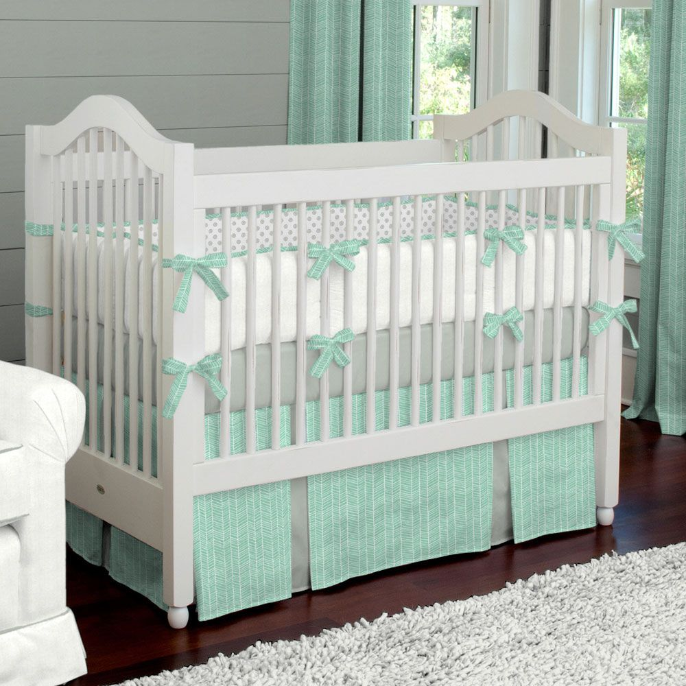 Baby Crib Bedding On Pinterest Neutral Baby Bedding