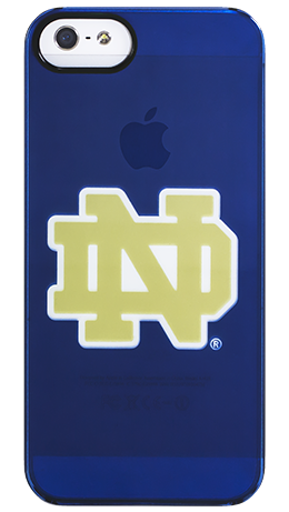 """Notre Dame Pride"" by for the iPhone 5 Clearly"