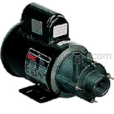 Te 5 Md Hc Magnetic Drive Pump For Highly Corrosive 1 8 Hp 115 230v Pumps Little Giants Magnets