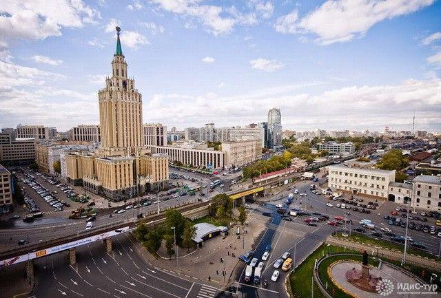 гостиница ленинградская москва фото