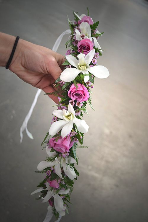 A Haku Flower Crown From Our Latest Design Class