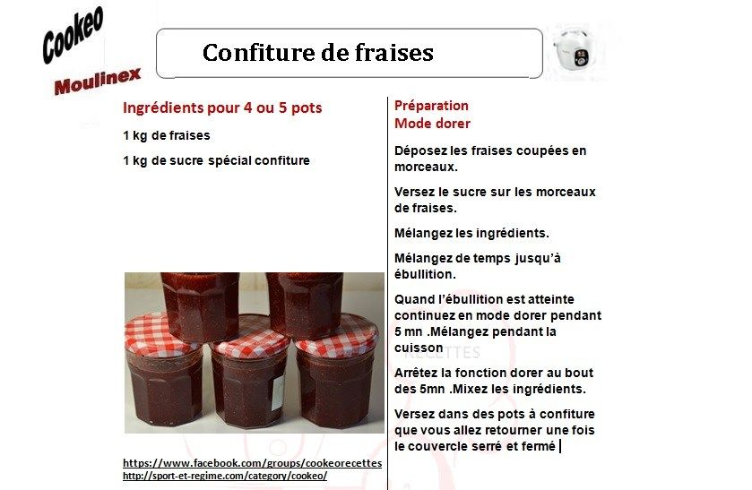 confiture cookeo