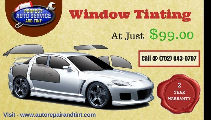 Car Window Tinting Service In North Las Vegas Car Repair Service