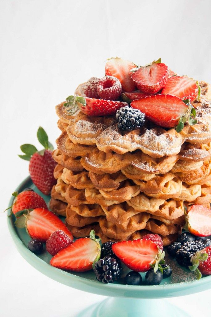 Spelled curd waffles – love for dough