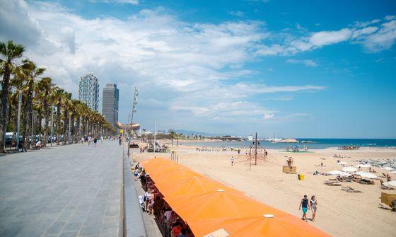 Пляжі Барселони (фото) (с изображениями) | Барселона, Испания