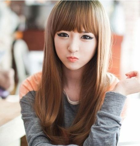 Hair Style Asian Hair Long Hair With Bangs Long Hair Styles
